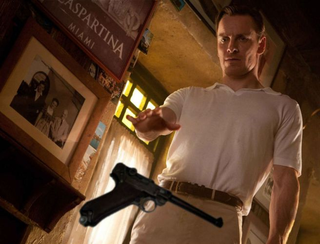 Picture of Michael Fassbender in X-men First Class movie