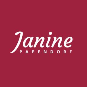 Janine Papendorf freelance writer logo 2018
